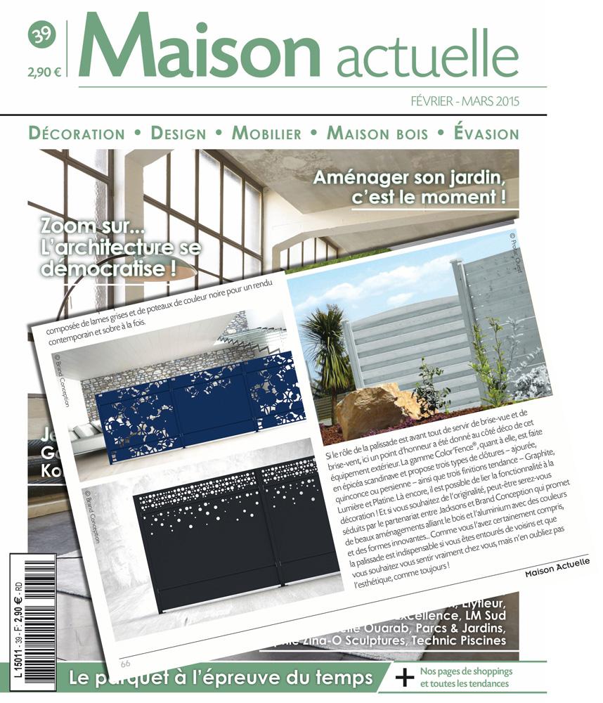 Brand conception brand conception in de pers maison for Maison brand