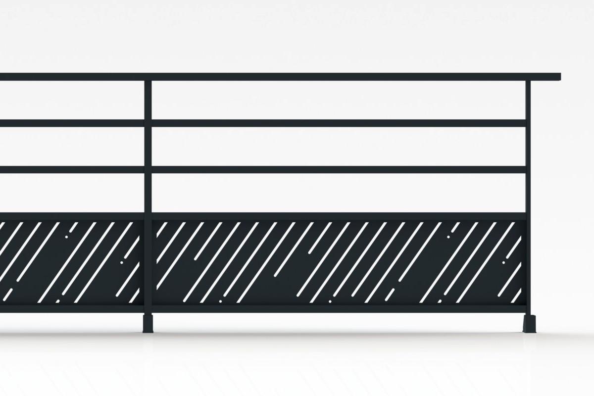 brand conception garde corps en aluminium thermolaqu. Black Bedroom Furniture Sets. Home Design Ideas