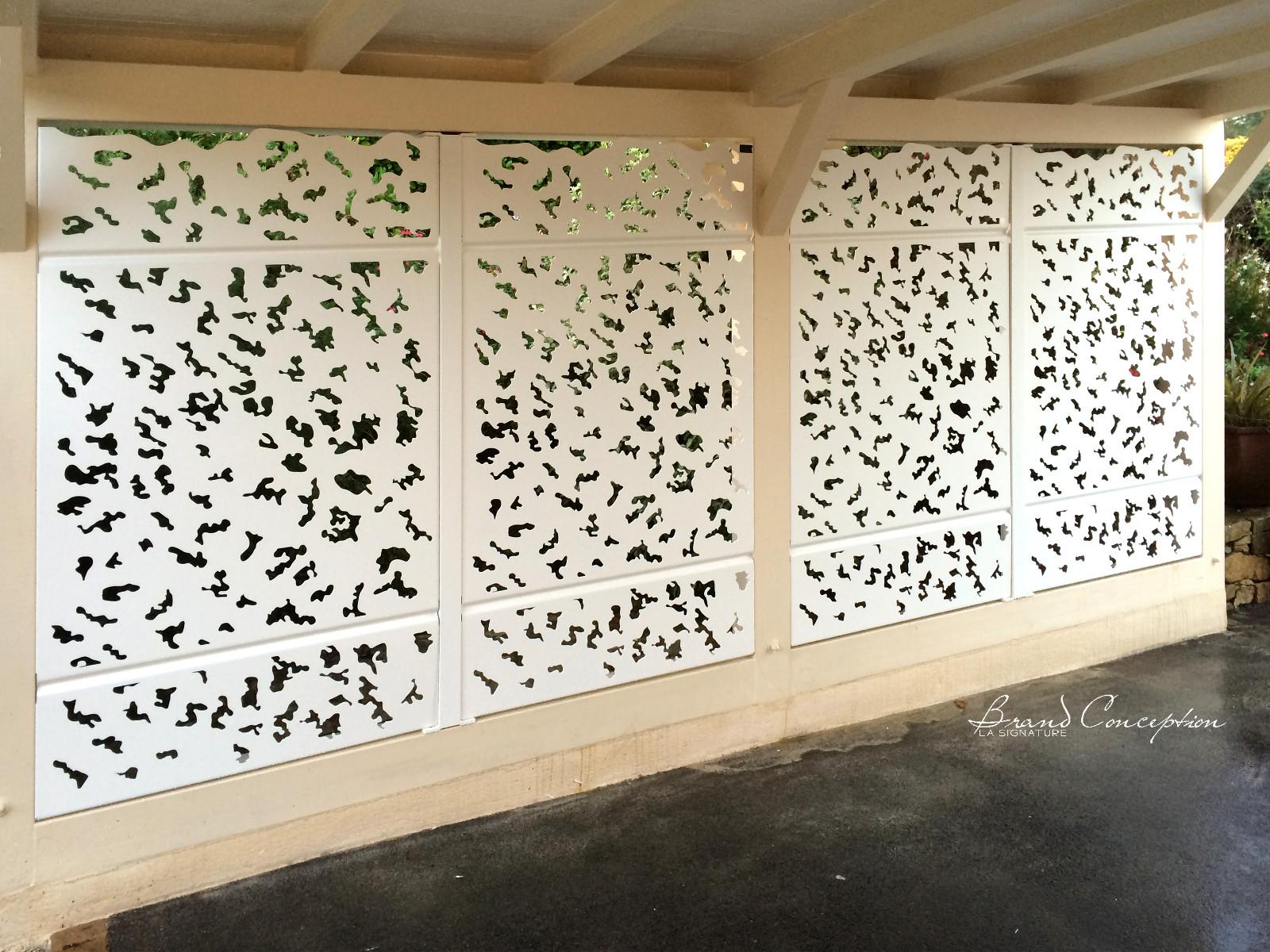 Brand Conception Decorative Aluminum Fence Laurus