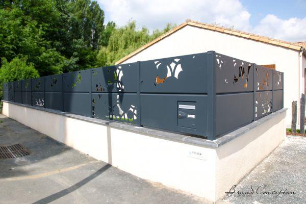 Brand Conception - Clôtures aluminium, claustra et brise vue aluminium 15104b74fee