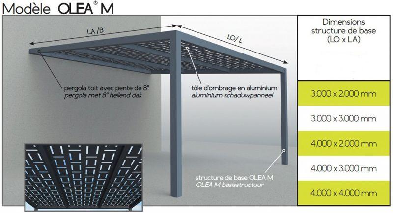 brand conception aluminum pergolas